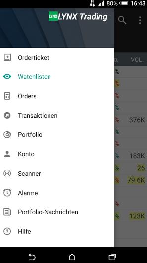 Lynx-Trading-App