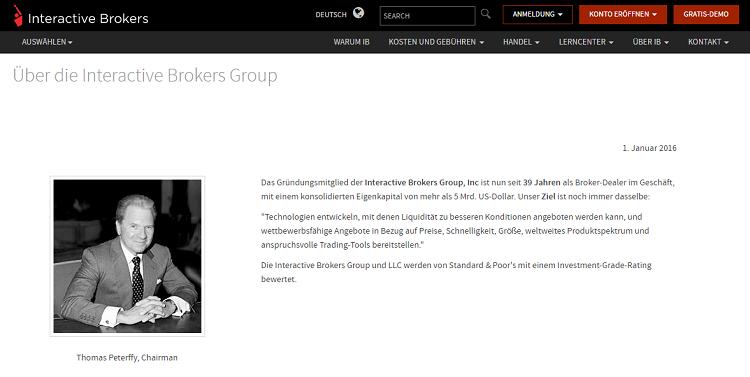 Interactive-Chairman-Profil