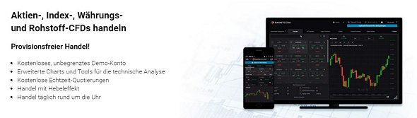 markets.com: provisionsfreier Handel