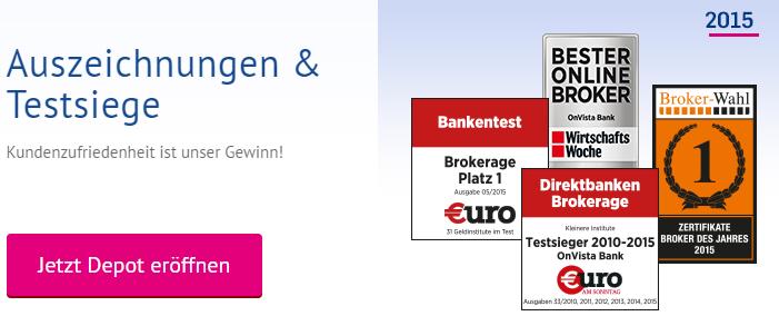 OnVista-Bank-Auszeichnungen