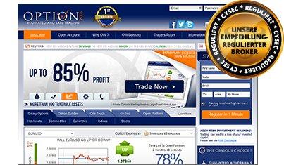 OptionWeb Handelsplattform