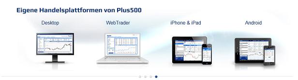 Plus500 Download Handelsplattformen