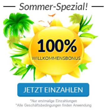 Ehemals: 100 % Sommer-Bonus beim Broker Stockpair