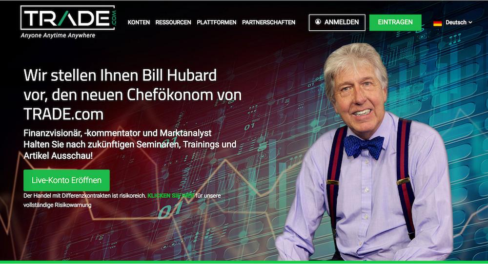 Trade.com Webseite