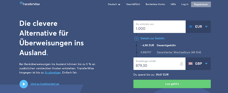 TransferWise Erfahrungen von BinaereOptionen.com