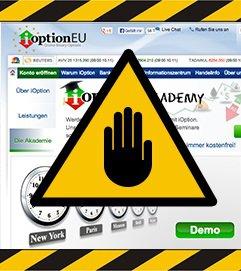 iOption Shutdown: Trading-Plattform des Brokers schließt 2013