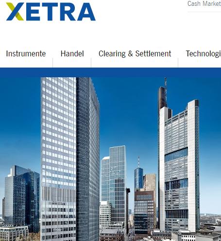 Xetra-Mainhatten-Skyline