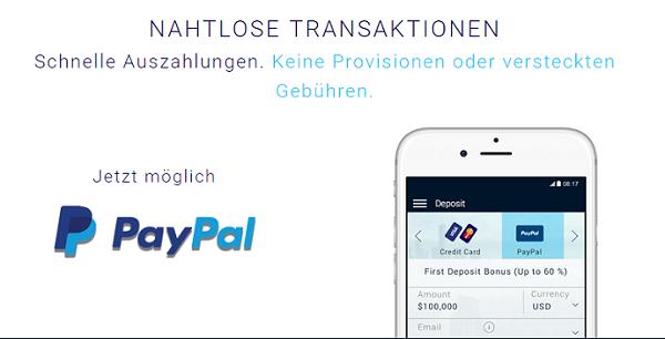 XTrade Paypal